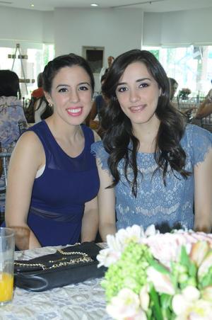 Andrea y Marcela