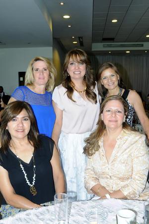 Gloria, Norma, Diana, Yadira y Reyna