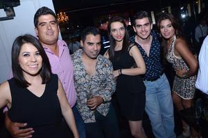 Diana, Beto, Guti, Gaby, Rodrigo y Sara