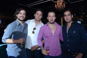 Fernando, Jaime, Mauricio y Camilo
