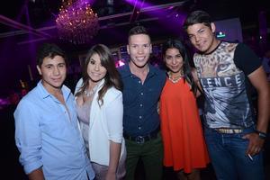 Omar, Viviana, Gael, Andrea y Diego