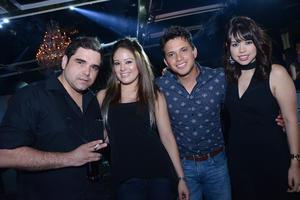 Paulo, Pamela, Roberto y Mayra