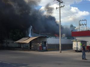 Las autoridades reportaron que no fue la necesaria la evacuación de vecinos en la zona del siniestro.