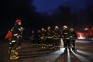 Cuerpos de rescate se movilizaron rápidamente a la zona.