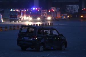 Las explosiones pudieron sentirse en un radio de 10 kilómetros.