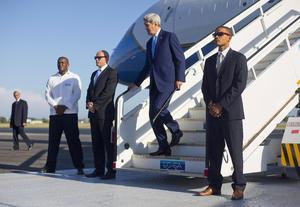 El viaje de Kerry es el primero de un jefe de la diplomacia estadounidense a Cuba en 70 años.