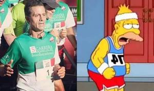 Se burlaron del aspecto que lució el presidente Enrique Peña Nieto en la carrera.
