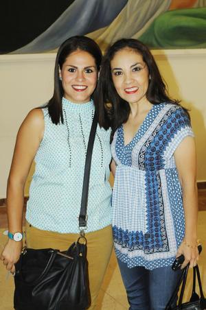 Alejandra Guerrero y Adriana O
