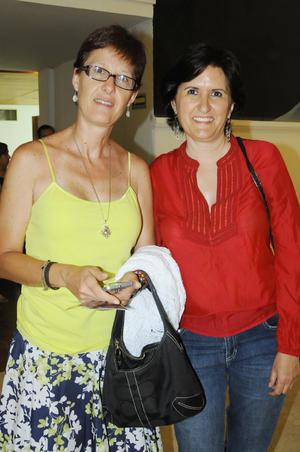 Alida y Cynthia