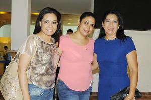 Blanca Ramírez, Claudia Machado e Ileana Navarrete