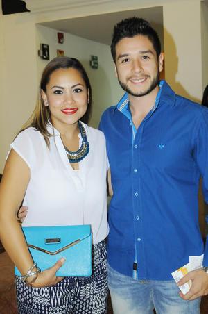 Cecilia Gutérrez y Sergio Tinoco