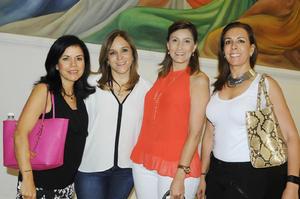 Cecy, Sandra, Cecy y Roxana