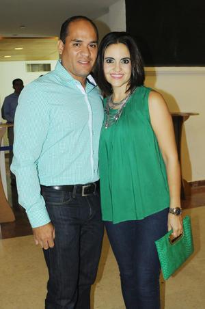 Francisco Camacho y Tahany Jalil