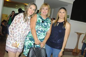 Mary, Gina y Angy