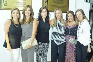 Paola, Rorra, Susana, Liliana, Lizeth y Kathy