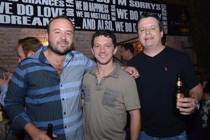 Sergio, Gabriel y Rafael