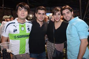 Aldo, Rodrigo, Maty y Juan Carlos