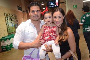 Bernardo, Renata y Luisa