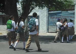 Fueron más de 430 mil estudiantes de la Comarca Lagunera los que volvieron a las aulas.