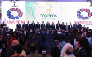 Con la presencia del funcionario federal dio inicio la Convención Nacional de Delegaciones, Sectores y Ramas Productivas en Torreón.