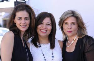 Ale, Cecilia y Alejandra