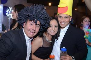 Alejandro, Perla y Roberto