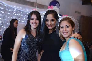 Yolanda, Fatme y Mara