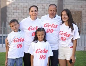 Claudia, Manolo, Paulina, Manolo y Melissa