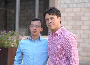 Sebastián y Daniel