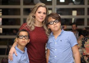 Jaime, Odila y Óscar