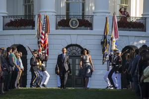 En Washington, el presidente Barack Obama conmemoró temprano el aniversario.