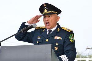 La ceremonia la encabezó el general de división diplomado de Estado Mayor, Uribe Toledo Sibaja.