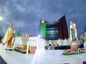 Con una celebración eucarística, se realizó un agradecimiento por el 108 aniversario de la ciudad de Torreón.