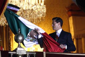 Esta fue la tercera ocasión en que El Grito fue encabezado por Peña Nieto.