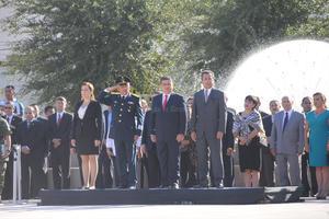 El alcalde Miguel Riquelme estuvo en el presidium.