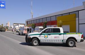 La empresa Combugas realizó un simulacro con el apoyo de Protección Civil.