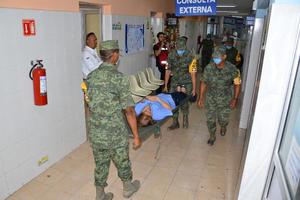 El Hospital Infantil fue uno donde se realizaron simulacros.