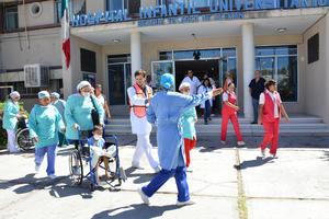 Las ciudades de Torreón, Coahuila y Gómez Palacio, Durango  realizaron simulacros para conmemorar el Día Nacional de Protección Civil.