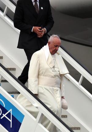 El Pontífice llegó a La Habana el 19 de septiembre.