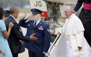El pontífice fue objeto de un recibimiento sin precedentes para un jefe de Estado.