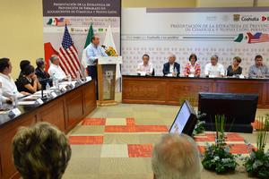 El gobernador Rubén Moreira dijo que en materia de salud, y sobre todo en el rubro de prevención, en Coahuila se estará trabajando de manera coordinada con el Gobierno federal.