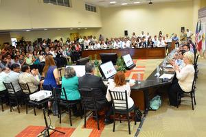 Mercedes Juan López presidió la reunión Binacional del Consejo de Salud Fronterizo, que tuvo su sede en Torreón.