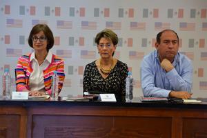 Según Mercedes Juan López, el rectorte planteado por el Ejecutivo, sólo afectará las áreas de operatividad administrativa, así como capacitación de personal, viáticos y demás áreas que no están directamente relacionados con la calidad de la atención.