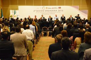 Gómez González reconoció en Torreón que la ciudadanía exige resultados claros en el ámbito de seguridad y procuración de justicia.