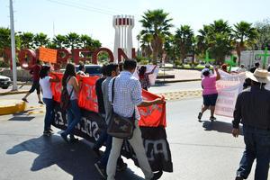 Llegaron a la ciudad de Torreón, como se tenía programado.