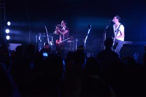 Los laguneros vivieron una noche de rock con Pxndx.