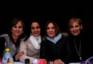 Pilar, Claudia, Fernanda y Rosario