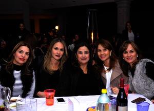 Pilar, Laura, Lucía, Pilar y Ana