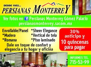 372954 PERSIANAS MONTERREY O.K.