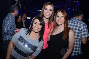 Marcela García, Ana Lilia Almaraz e Iris Castro